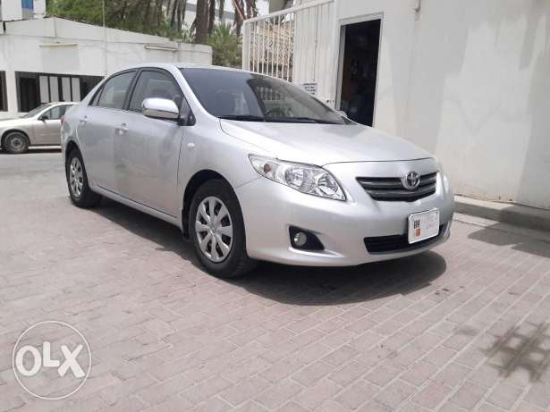 Toyota corolla 1.8 xli single owner used car 2010 model for sale
