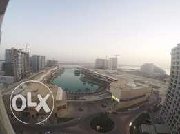 Lagoon view apartment in Amwaj Island