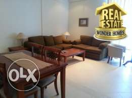 spacious fully furnished family apartment 2 bed room in JUFFAIR