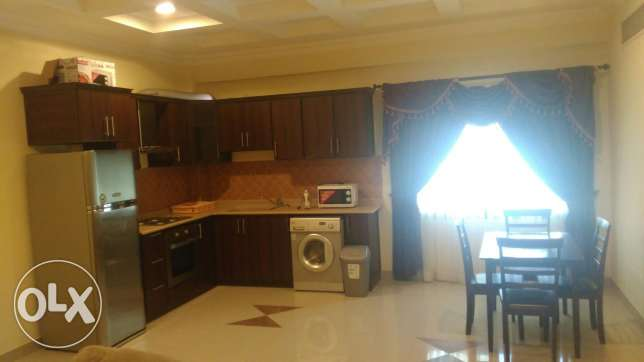 New fully furnished 2BR flat for rent ام الحصم -  2