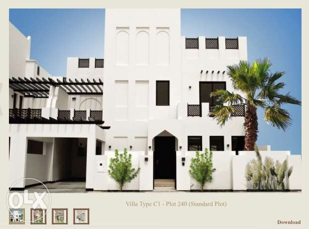 Villa for sale at Diyar - phase one project