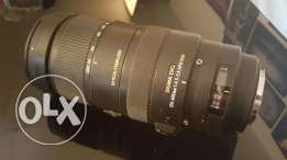 120 to 400 mm sigma lens .