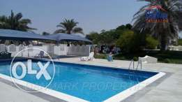 3 Bedroom semi furnished single Storey Compound VILLA with Private
