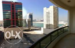 Spacious sea view apartment in Juffair