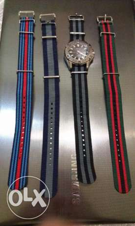 Nato(nylon) watch straps for sale