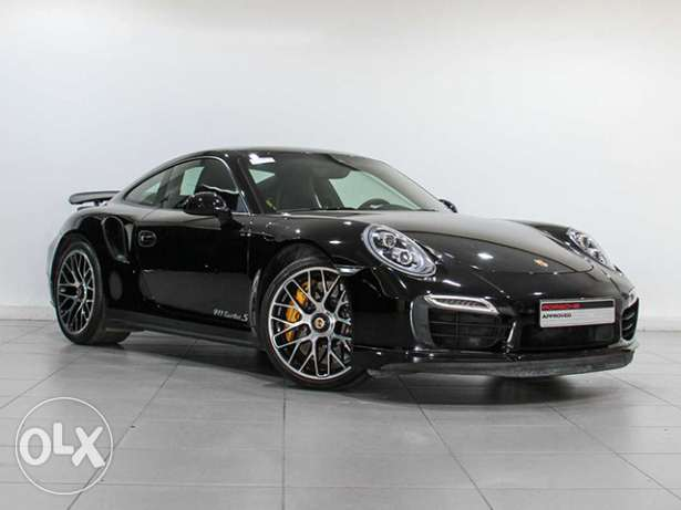 "Porsche 911 Turbo S ""Approved"" Black"