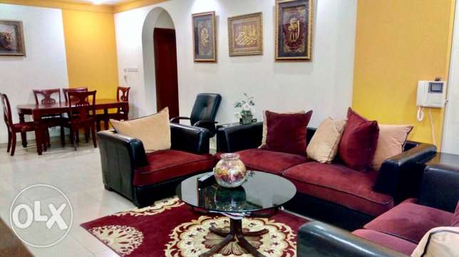 Fully furnished 2 bedroom apartment in Hoora 450 inclusive