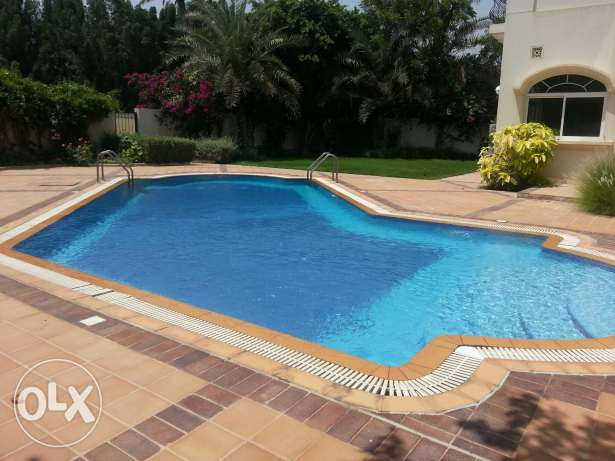 Stand alone 4 bed room semi furnished villa for rent in ADLIYA