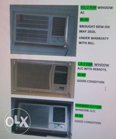 URGENT SALE WINDOW A/C # OR Exchange with split AC in Good condition