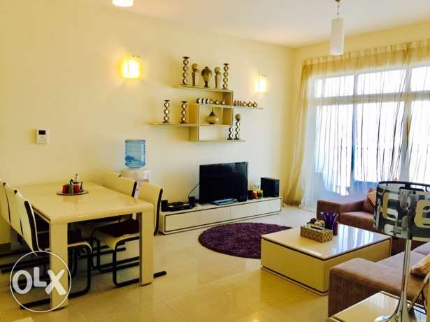 Two bedrooms luxury apartment for rent in Amwaj-Island.