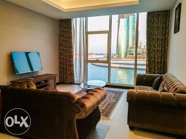 Sea View New 2 BR Furnished Apartment in Reef Island