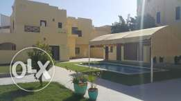 SAAR 5 BRS Villa very big compound with Private pool for Rent