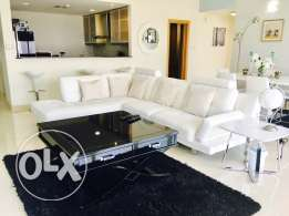 Luxury Lagoon View 2-BR-Apartment for Rent in Amwaj. Ref:AP-AW-0004