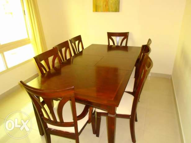 Juffair- 3 bedroom flat fully furnished