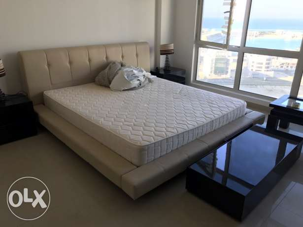 king size bed with mattress for sale