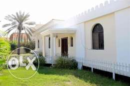 JBA31 4br semi furnished villa with large garden close to saudi causew