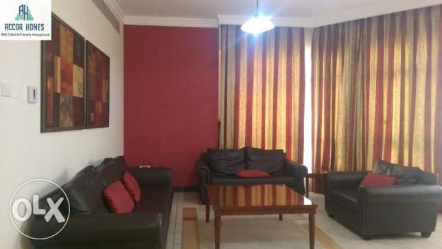 Fully furnished 2 BHK flat for rent in Hoora 500/month