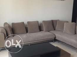 3 bed fully furnished beautiful flat in Adliya