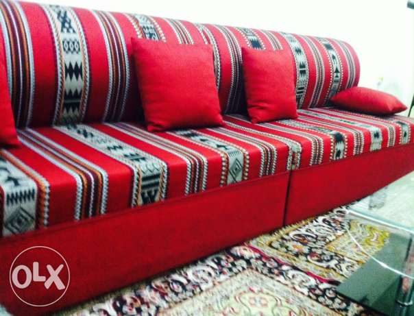 arbic sofa and house items for sale