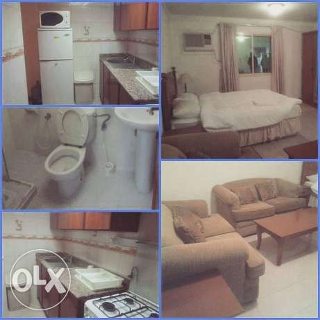 Gudaibiya - Studio Flat Fully Furnished With Ewa BD 250 Only 4 couple