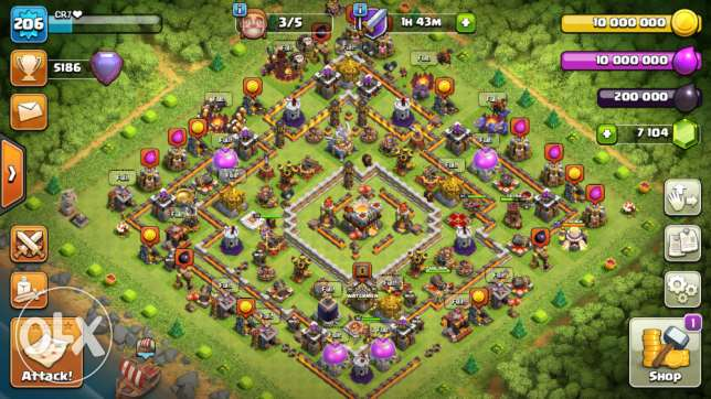 Clash of clan (th11)
