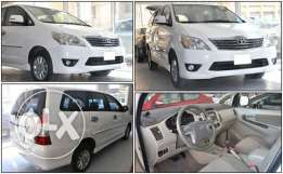 Toyota Innova 2012,good condition,non accident provides bank loan...