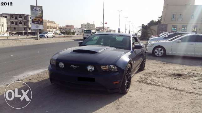 2012 model Ford Mustang