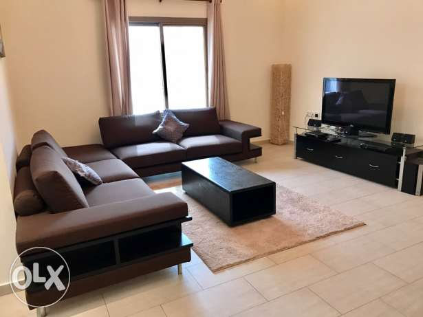 Spacious fully furnished 2 bedroom apartment in Burhama