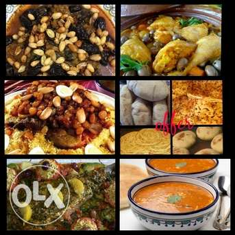 Moroccan homemade food