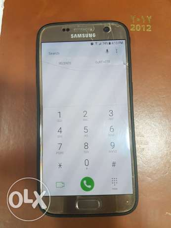 Samsung s7 flat 32gb gold color