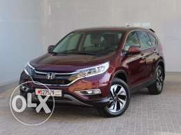 Honda CR-V EXi Cloth 4WD 2.4L 5Dr Auto 2015 Maroon color For Sale