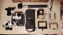 GO PRO HERO 4 BLACK w/ Accessories - Prime Condition