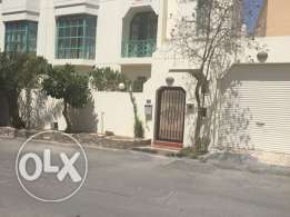 Mahooz Semi  Furnished  3Bedrooms 4 bathrooms Livingroom kitchen, Laundry room , Maid room. Garage . For Rent