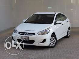 Hyundai Accent 2016 White Color For Sale
