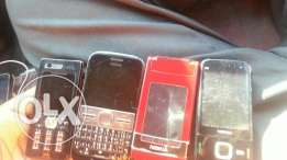 N76 E5 N85 Nokia and sony w880i