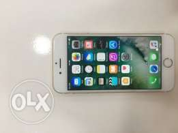 iPhone6s 64gb gold color very good condition only mobile and charger (