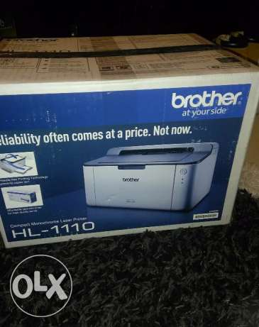 Brother laser printer and hp printer for sale
