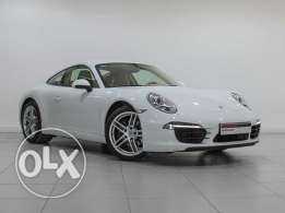 Porsche Approved 911 Carrera White 2015MY