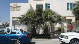 Double storey semifurnished villa for rent