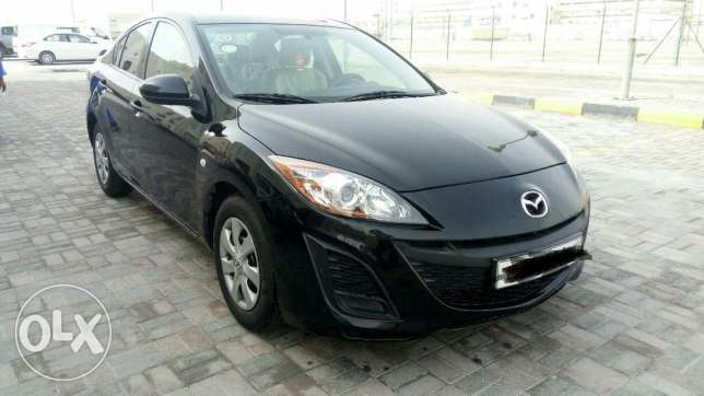 Mazda 3 model 2011 full insurance passing jun 2017