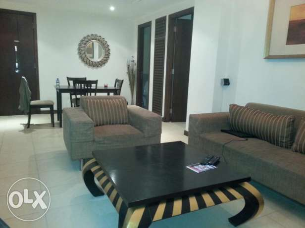 Lovely 1 bedroom with decent furniture fully furnished amazing Sea V