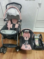 Chicco baby stroller and carseat