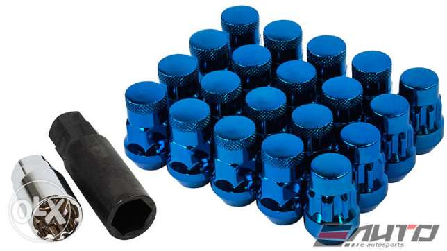 Genuine Muteki SR35 Lug Nuts 12Mx1.5 set with lock