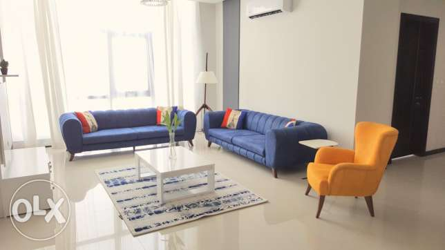 Luxurious fully furnished 2 BR apartment brand new