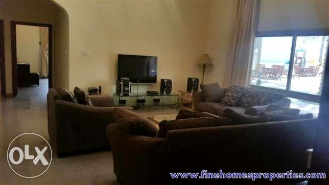 4BYA 3br fully furnished compound apartment in bubaiya near to beach
