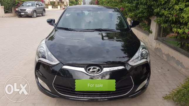 Full options Hyundai Veloster 2015 for sale.
