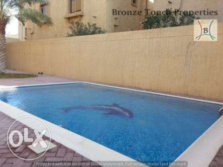 fully furnished villa with private pool saar