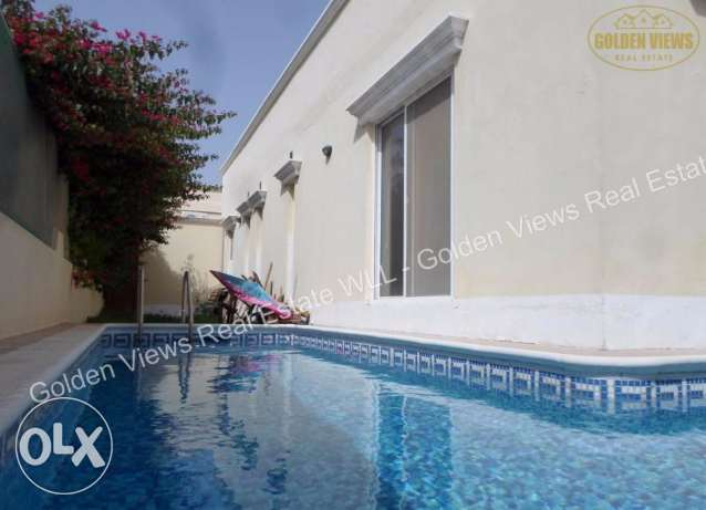 3 Bedroom semi furnished villa with private pool - all inclusive