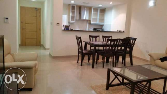 2 Bedrooms apartment with decant furniture fully furnished with lagoon