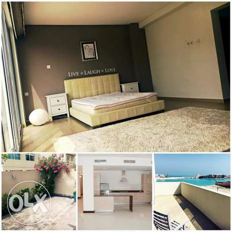 Amwaj: 5 + 2 bedroom fully furnished big villa for rent